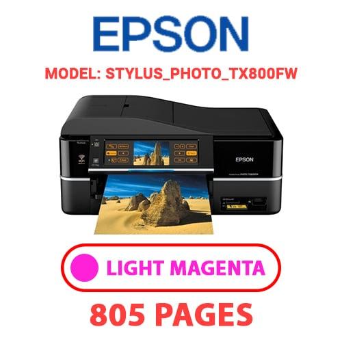 STYLUS PHOTO TX800FW 5 - EPSON STYLUS_PHOTO_TX800FW - LIGHT MAGENTA INK