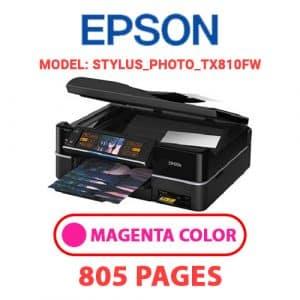 STYLUS PHOTO TX810FW 2 - Epson Printer