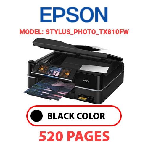 STYLUS PHOTO TX810FW - EPSON STYLUS_PHOTO_TX810FW - BLACK INK