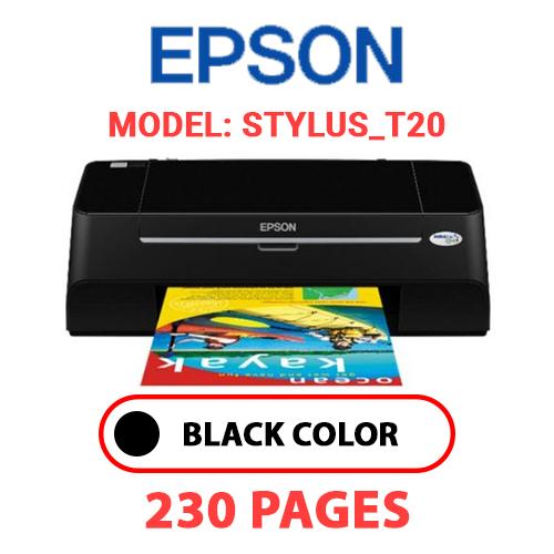 STYLUS T20 - EPSON STYLUS_T20 PRINTER - BLACK INK