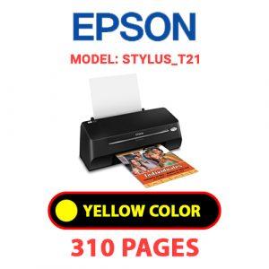 STYLUS T21 3 - Epson Printer
