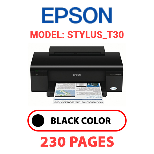 STYLUS T30 - EPSON STYLUS_T30 PRINTER - BLACK INK