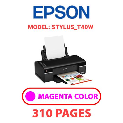 STYLUS T40W 2 - EPSON STYLUS_T40W - MAGENTA INK