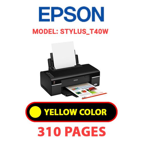 STYLUS T40W 3 - EPSON STYLUS_T40W - YELLOW INK