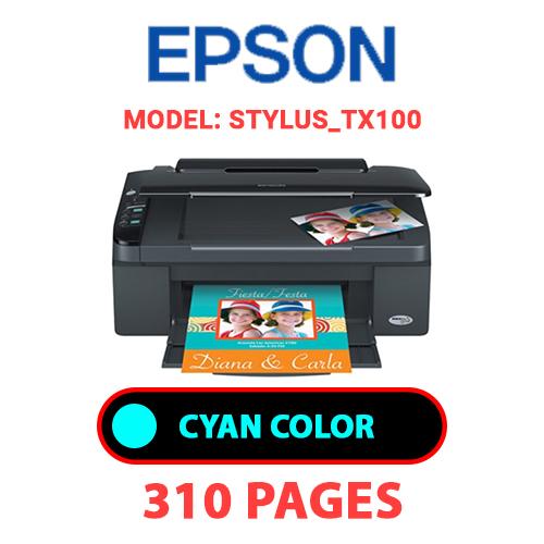 STYLUS TX100 1 - EPSON STYLUS_TX100 - CYAN INK
