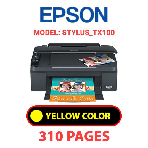 STYLUS TX100 3 - EPSON STYLUS_TX100 - YELLOW INK