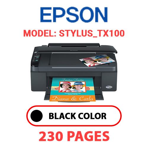 STYLUS TX100 - EPSON STYLUS_TX100 - BLACK INK