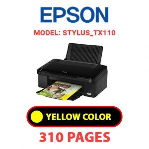 STYLUS TX110 3 - Epson Printer