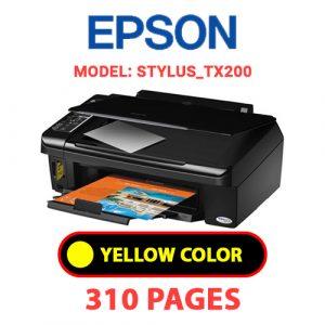 STYLUS TX200 3 - Epson Printer