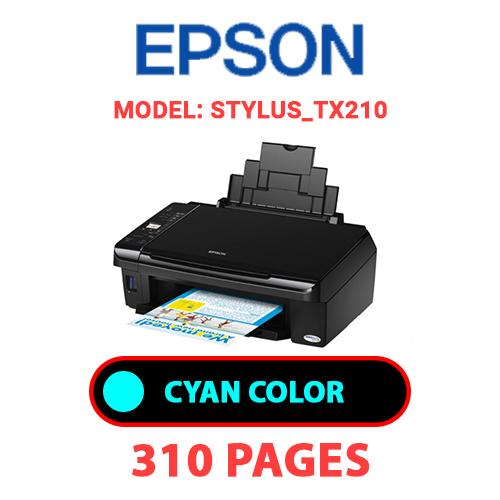 STYLUS TX210 1 - EPSON STYLUS_TX210 - CYAN INK