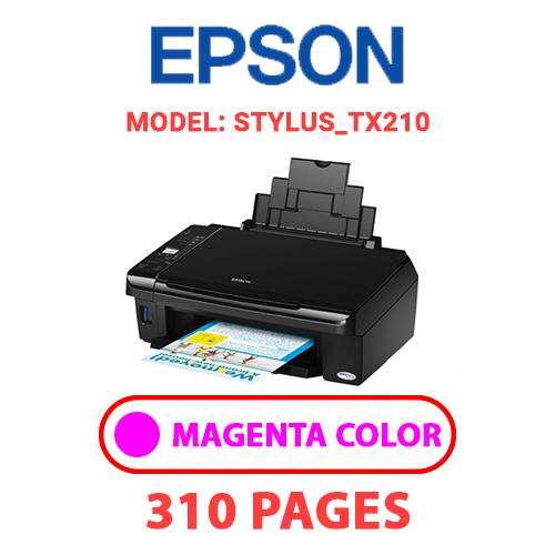 STYLUS TX210 2 - EPSON STYLUS_TX210 - MAGENTA INK