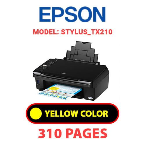 STYLUS TX210 3 - EPSON STYLUS_TX210 - YELLOW INK