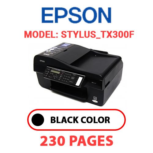 STYLUS TX300F - EPSON STYLUS_TX300F - BLACK INK