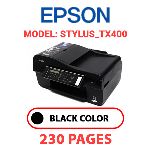 STYLUS TX400 - EPSON STYLUS_TX400 - BLACK INK