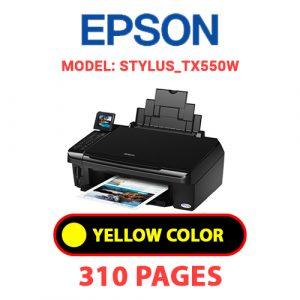 STYLUS TX550W 3 - Epson Printer