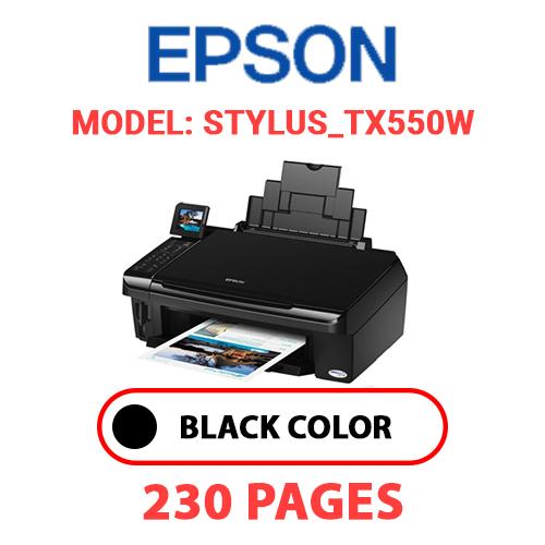 STYLUS TX550W - EPSON STYLUS_TX550W - BLACK INK