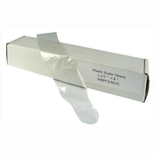 "Scaler sleeve - Scaler Sleeves Round Edge (1.75"" x 8"")- 500pcs/pkt"