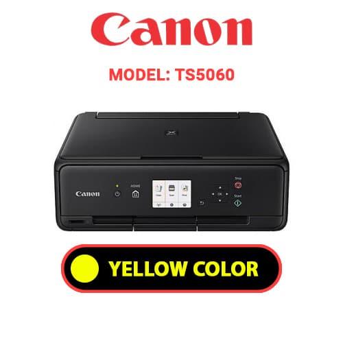 TS5060 4 - CANON TS5060 - YELLOW INK