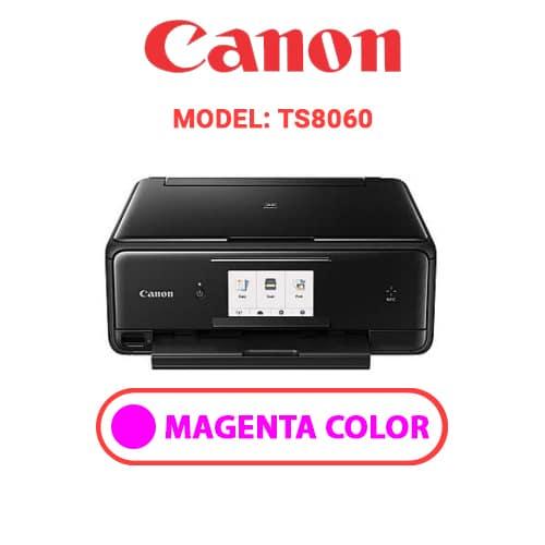 TS8060 3 - CANON TS8060 - MAGENTA INK
