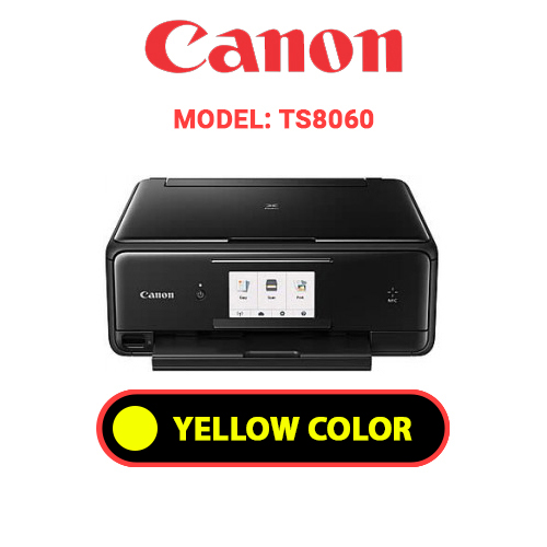 TS8060 4 - CANON TS8060 - YELLOW INK