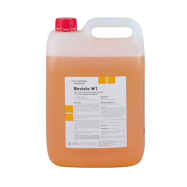 W1 5L - Suction Cleaner Bevisto W1 - Acidic) -5Ltr