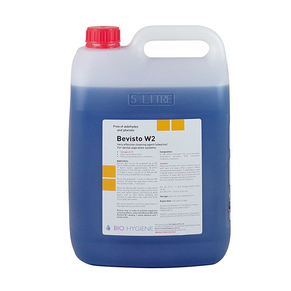 W2 5L - Suction Cleaner Bevisto W2 - (Alkaline) -5Ltr