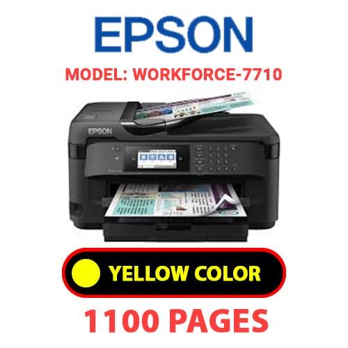 WorkForce 7710 4 - EPSON Workforce_7710 - YELLOW INK