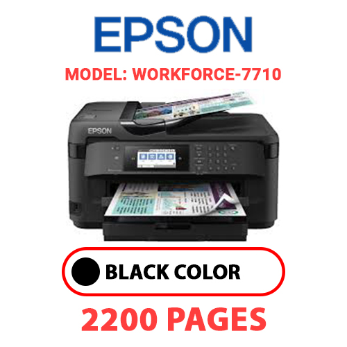 WorkForce 7710 - EPSON Workforce_7710 - BLACK INK