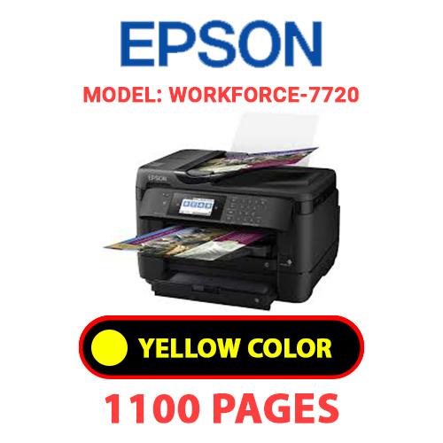 WorkForce 7720 4 - EPSON Workforce_7720 - YELLOW INK