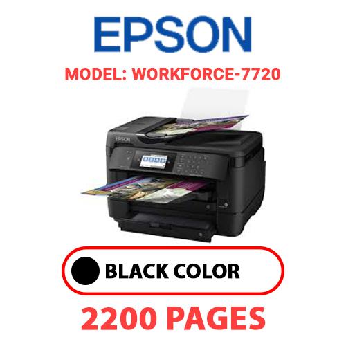 WorkForce 7720 - EPSON Workforce_7720 - BLACK INK