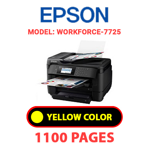 WorkForce 7725 4 - EPSON Workforce_7725 - YELLOW INK