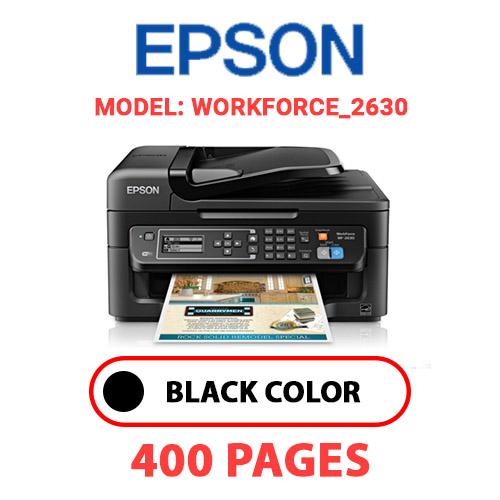 WorkForce 2630 - EPSON WorkForce_2630 - BLACK INK