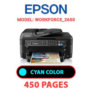 WorkForce 2650 2 - Epson Printer