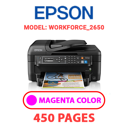 WorkForce 2650 3 - EPSON WorkForce_2650 - MAGENTA INK