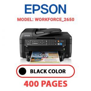 WorkForce 2650 - Epson Printer