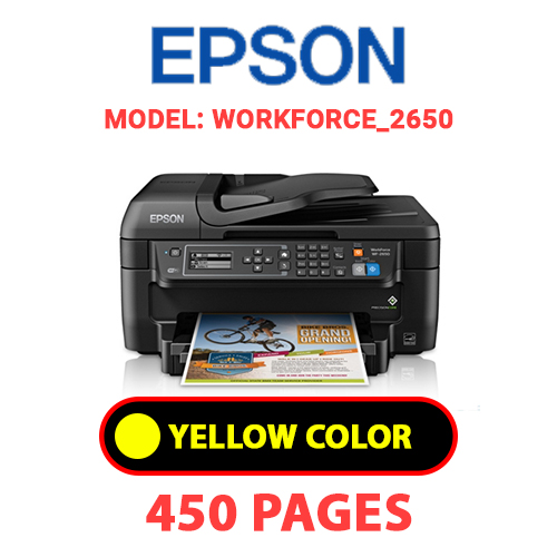 WorkForce 2650 4 - EPSON WorkForce_2650 - YELLOW INK