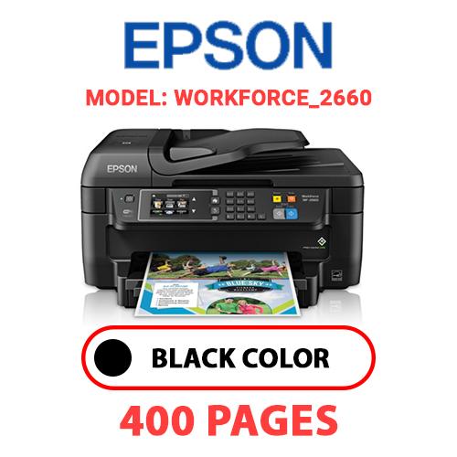 WorkForce 2660 - EPSON WorkForce_2660 - BLACK INK