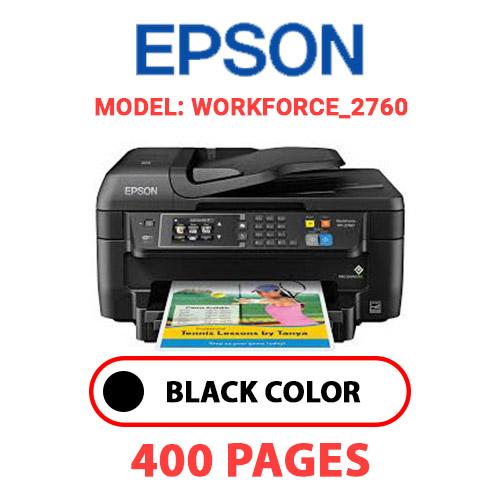 WorkForce 2760 - EPSON WorkForce_2760 - BLACK INK