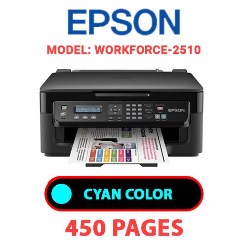Workforce 2510 1 - EPSON Workforce-2510 PRINTER - CYAN INK
