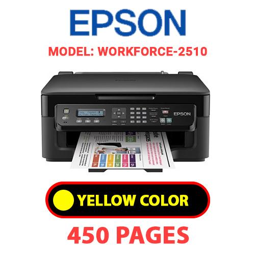 Workforce 2510 3 - EPSON Workforce-2510 - YELLOW INK