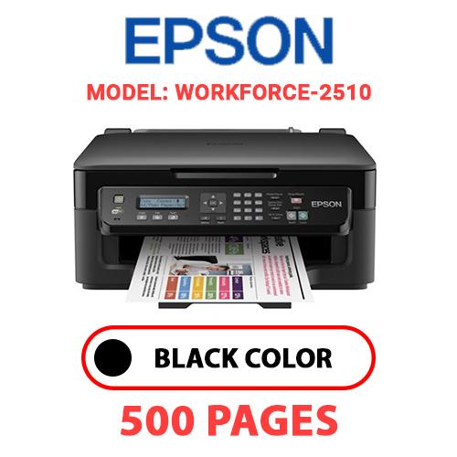Workforce 2510 - EPSON Workforce-2510 PRINTER - BLACK INK
