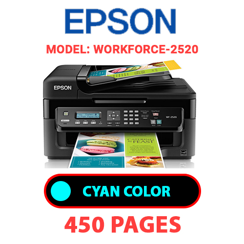 Workforce 2520 1 - EPSON Workforce-2520 PRINTER - CYAN INK