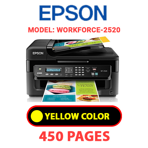Workforce 2520 3 - EPSON Workforce-2520 - YELLOW INK