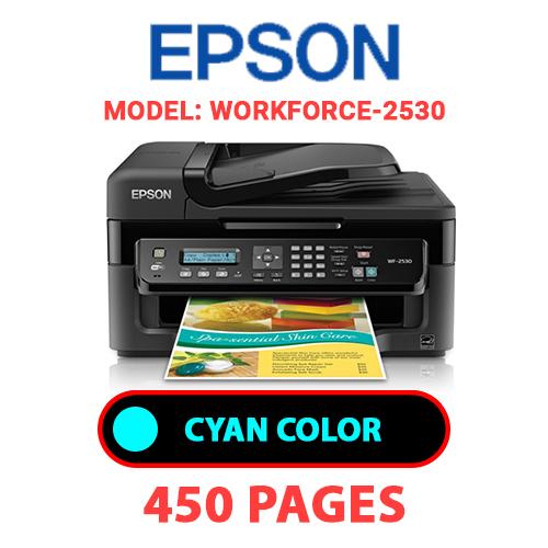 Workforce 2530 1 - EPSON Workforce-2530 PRINTER - CYAN INK