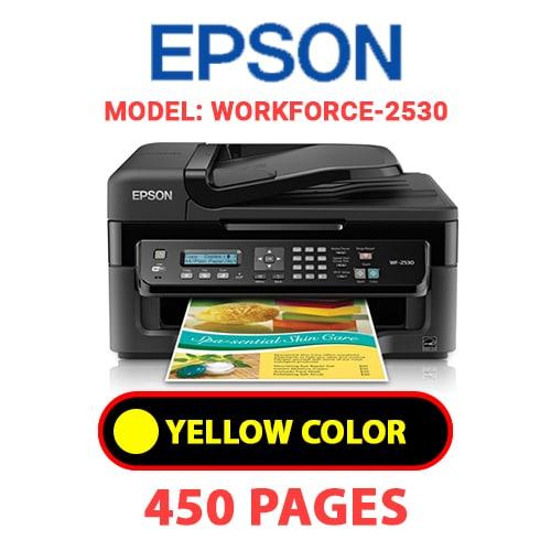 Workforce 2530 3 - EPSON Workforce-2530 - YELLOW INK