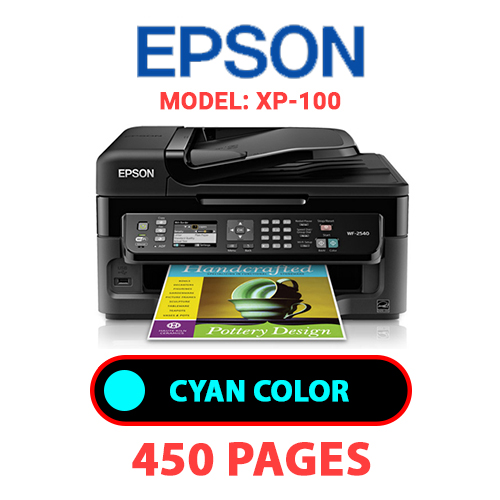 Workforce 2540 1 - EPSON Workforce-2540 PRINTER - CYAN INK