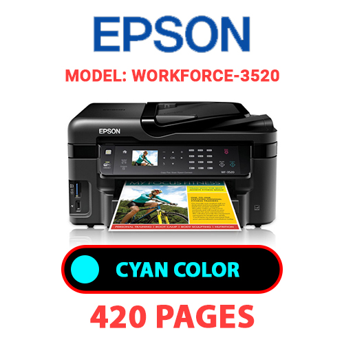Workforce 3520 1 - EPSON Workforce_3520 - CYAN INK