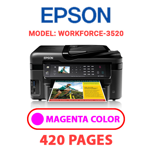Workforce 3520 2 - EPSON Workforce_3520 - MAGENTA INK
