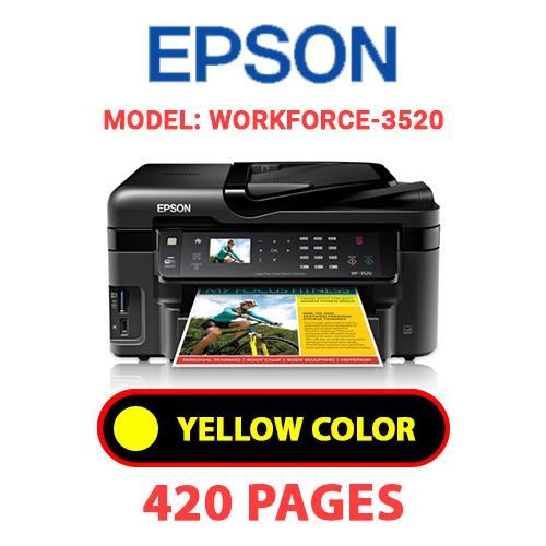 Workforce 3520 3 - EPSON Workforce_3520 - YELLOW INK