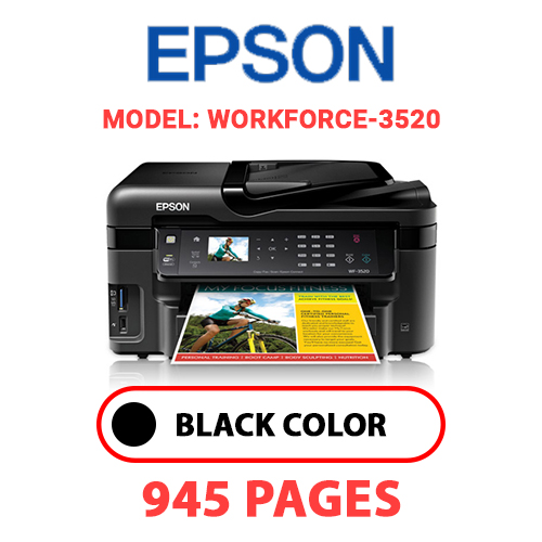 Workforce 3520 4 - EPSON Workforce_3520 - BLACK INK